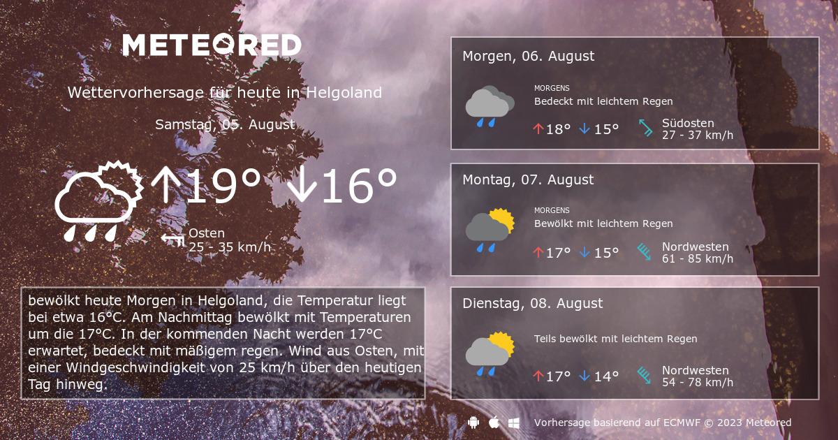 Wetter Nächsten Mittwoch