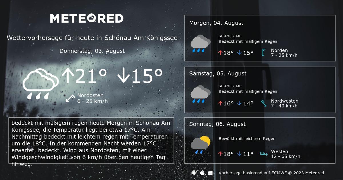 Wetter Am Königssee 14 Tage