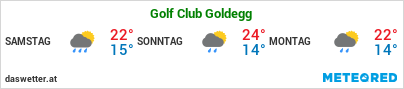 Wetter Golf Club Goldegg