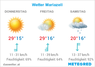 Wetter Mariazell